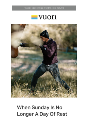 Vuori - Not just for the weekends