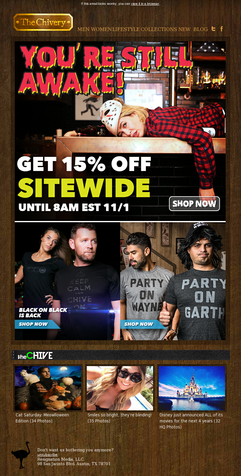 Plus, Keep Calm and KCCO Black on Black and new tees from Buy Me Brunch. If