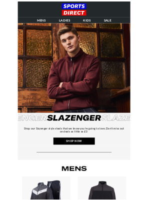 Eastern Mountain Sports - Trending From Slazenger