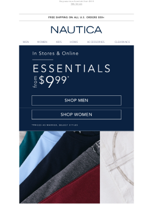 Nautica - Sweaters from $24.98 for him