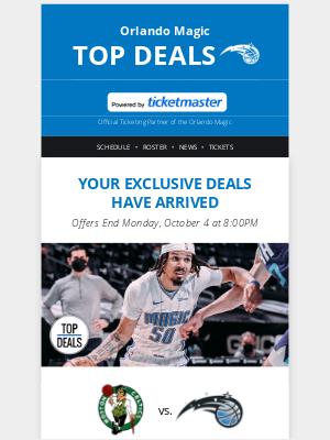 Orlando Magic - I scream, you scream, we all scream for deals!