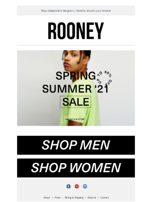 Rooney Shop - End Of Season Sale | Up to 50% OFF