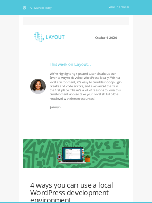 Local By FlyWheel - Delightful tutorials for local WordPress development 🤖