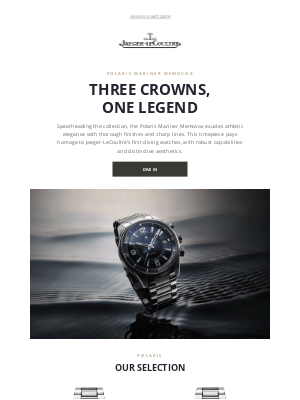 Jaeger-LeCoultre - The highly-performing diving watch