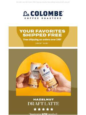 La Colombe Coffee Roasters - Your Favorites Shipped Free ☕