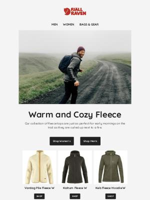 Fjällräven - Warm and Cozy Fleece
