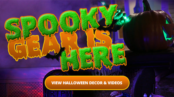 Halloween Audio and Decor Headquarters -- View Decor and Videos