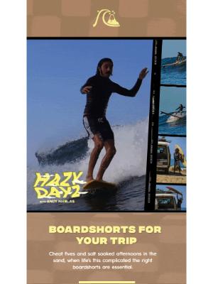 Roxy - Hazy Dayz: Boardshorts For Your Trip
