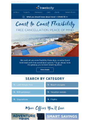 Travelocity - ✔ Free cancellation options from coast to coast