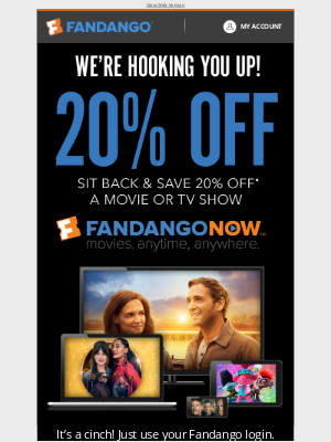 Fandango - Here's An Offer You Can't Refuse