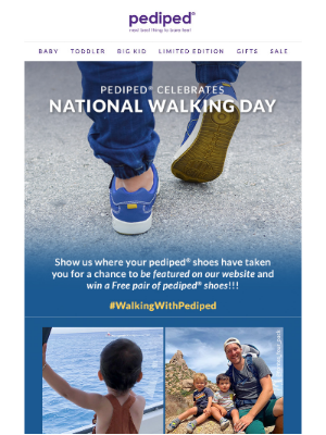 Pediped - Walk a mile in my shoes...