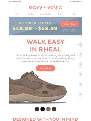 Easy Spirits - Zip Up & Go in This Romy-Inspired Sneaker