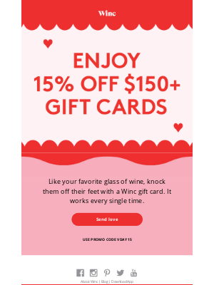Winc - Not sure what to get your partner-in-crime?