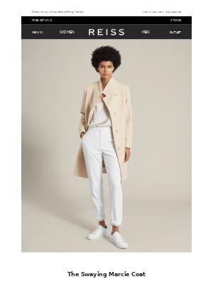 Reiss - The Elegant Double-Take Coat