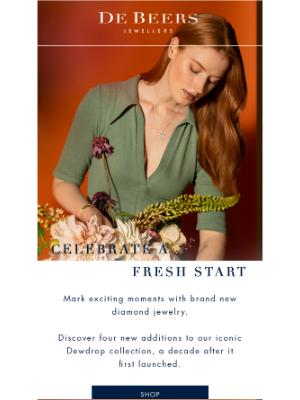 De Beers - Celebrate new beginnings in style