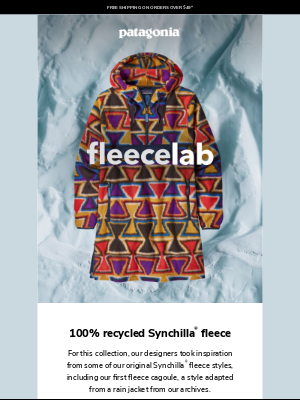 Patagonia - fleecelab: our latest drop is here