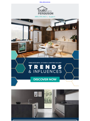 Build - Exciting new trends for your home.