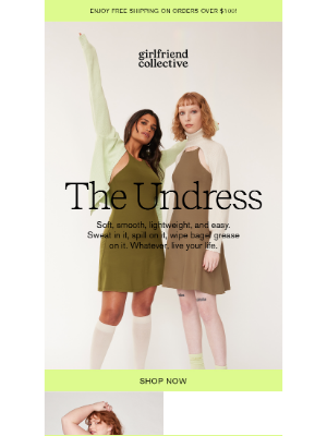 Girlfriend Collective - NEW! The Undress