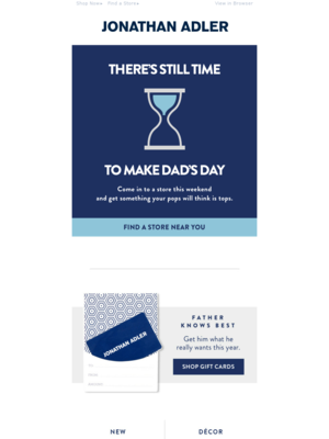 Father's Day for the Procrastinator