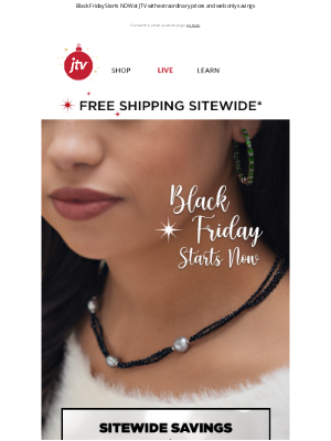 Jewelry Television - Our BEST DEALS YET + FREE SHIPPING SITEWIDE 😮
