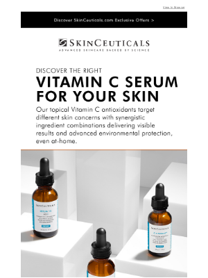 SkinCeuticals - Pure. Potent. Proven For Your Skin Health.
