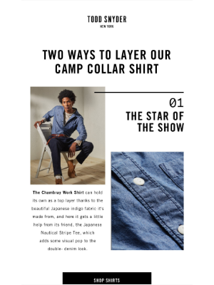 Todd Snyder - How It's Done: The Camp Collar Shirt