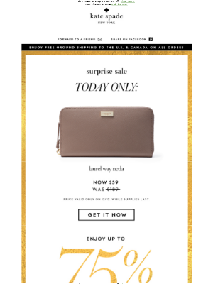 today only: this wallet for $59 (wow)