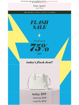 no joke: $99 for this petite satchel