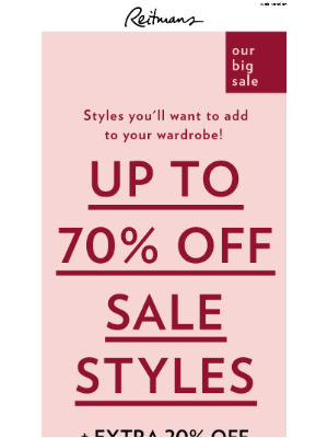 Our sale is getting even better!