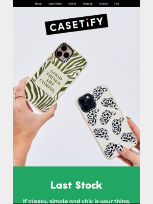 Casetify - Teresuch: Animal print–inspired collection