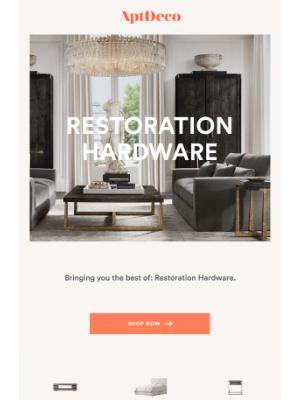 AptDeco - Up to 70% off Restoration Hardware