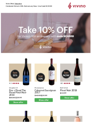 Vivino - It's Happy Hour - Save an Additional 10%