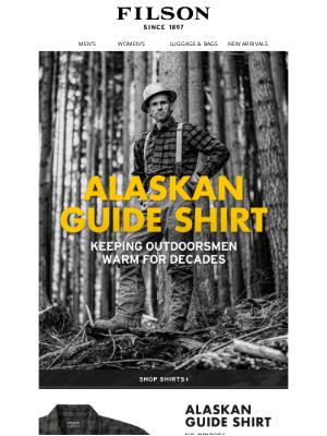 Filson - The World Famous Alaskan Guide Shirt