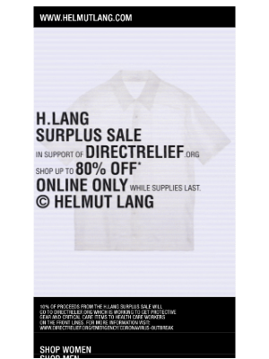Best Sellers Back in Stock. Shop The H.LANG Surplus Sale, Up to 80% off!