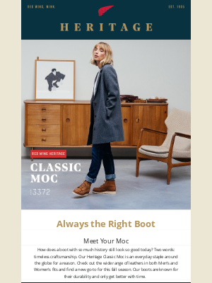 Red Wing Heritage - You Need a New Pair