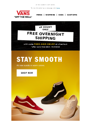 Vans - Stay Smooth
