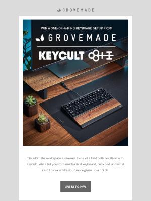 Grovemade - Keycult + Grovemade Collaboration