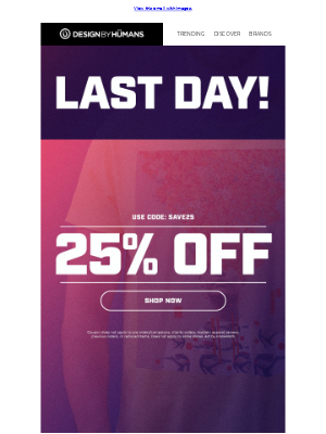 🚨 25% Off Ends TONIGHT! 🚨