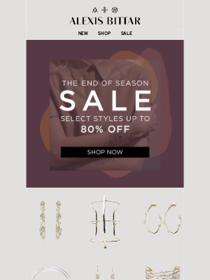 Alexis Bittar - New Styles Added to Sale