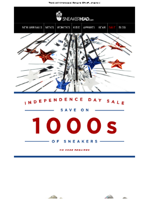 Independence Day Sale - Still Going!