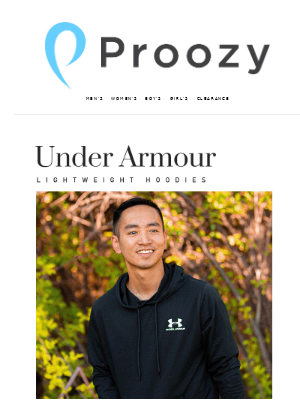 Proozy - Under Armour Hoodies 2 for $30!