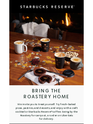 Starbucks - Stay In, Order Out with Starbucks Reserve®