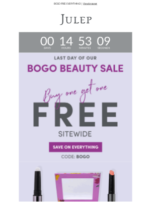 Julep - ⚠️ This sale is too good to last!