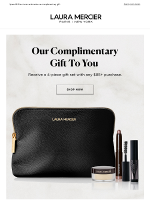 Laura Mercier Cosmetics - 4-Piece Gift Just For You