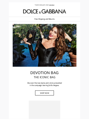 Dolce & Gabbana - Devotion Bag: discover the new styles of the season
