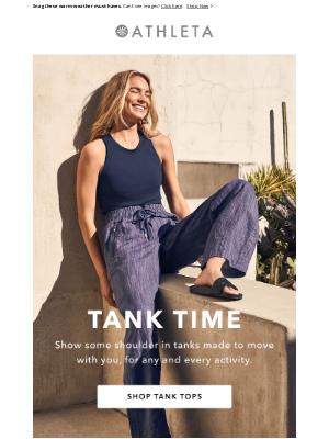 Athleta - Style Spotlight: Tank Tops