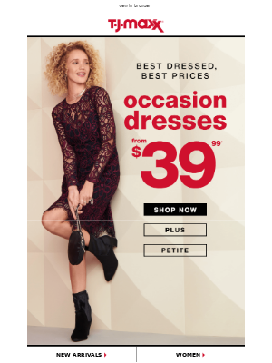 From $39.99: Occasion dresses