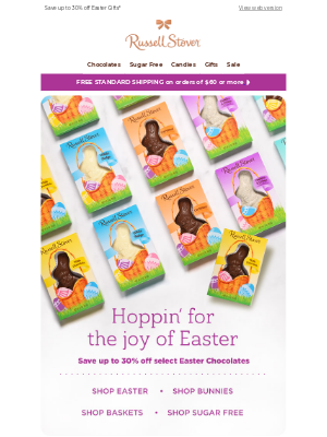 Russell Stover Candies - Hoppin' For the Joy of Easter