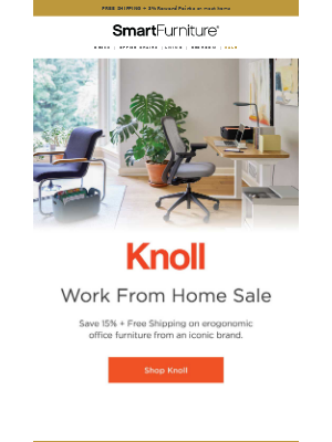 Knoll WFH Sale | 15% Off + Free Shipping