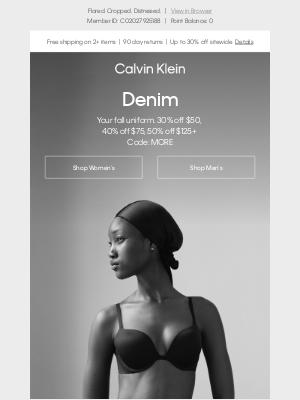 Calvin Klein - Denim Every Day
